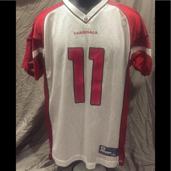 cheap for discount 3a21a 4bd23 Reebok NFL Larry Fitzgerald Cardinals Jersey